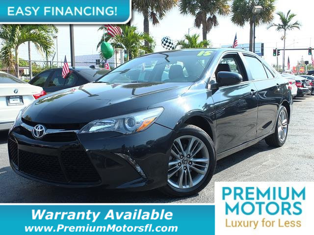 2015 TOYOTA CAMRY 4DR SEDAN I4 AUTOMATIC SE LOADED CERTIFIED WARRANTY Dont Pay Retail Get low