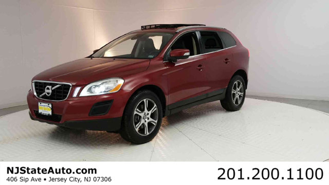 2011 VOLVO XC60 AWD 4DR 30T WMOONROOF CARFAX One-Owner Clean CARFAX Flamenco Red Metallic 2011