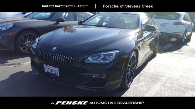 2014 BMW 6 SERIES 4DR SDN 650I GRAN CP CARFAX One-Owner Clean CARFAX Black 2014 BMW 6 Series 650