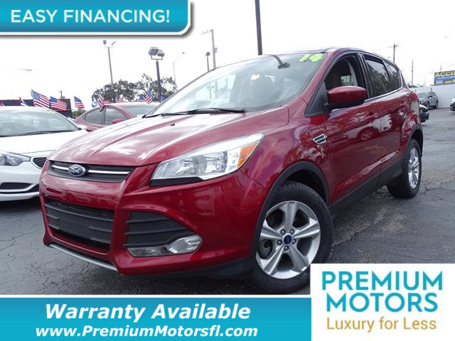 2014 FORD ESCAPE FWD 4DR SE LOADED CERTIFIED FACTORY WARRANTY Fully serviced just sign and dri