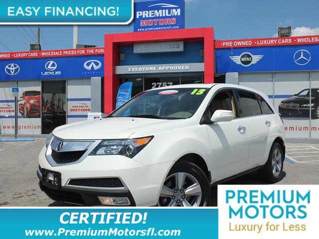 2013 ACURA MDX AWD 4DR LOADED CERTIFIED WE SAVE YOU THOUSANDS Fully serviced just sign an