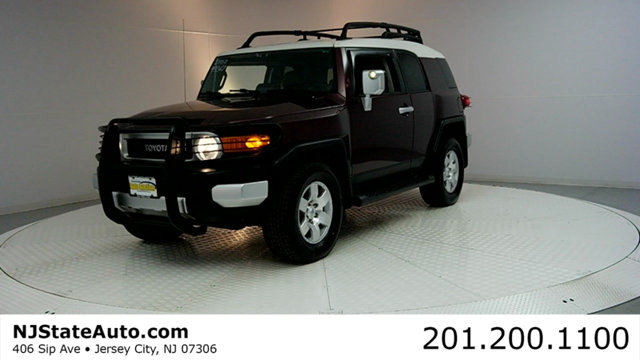 2007 TOYOTA FJ CRUISER 4WD 4DR AUTOMATIC 2007 Toyota FJ Cruiser 4WD 5-Speed Automatic 40L V6 DOHC