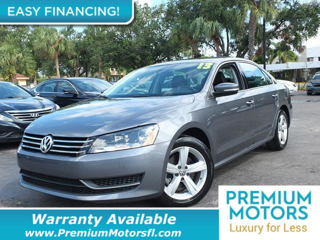 2013 VOLKSWAGEN PASSAT SE LOADED CERTIFIED WARRANTY Dont Pay Retail Get low monthly payments