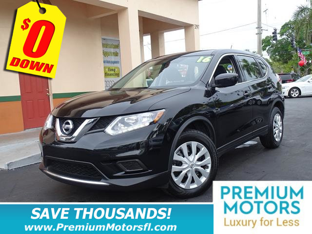2016 NISSAN ROGUE FWD 4DR S LOADED CERTIFIEDFACTORY WARRANTY Fully serviced just sign and