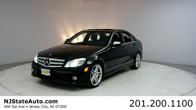 2009 MERCEDES C-CLASS C350 4DR SEDAN 35L SPORT RWD CARFAX CERTIFIED 1-OWNER WITH SERVICE RECOR