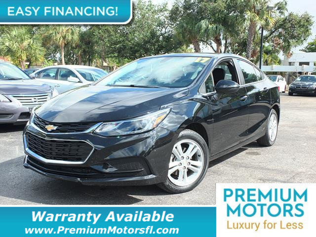 2017 CHEVROLET CRUZE  LOADED CERTIFIED WARRANTY Dont Pay Retail Get low monthly payments on t