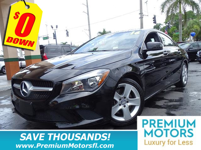 2016 MERCEDES CLA 4DR SEDAN CLA 250 FWD MERCEDES FOR LESS FACTORY WARRANTY At Premium Motor