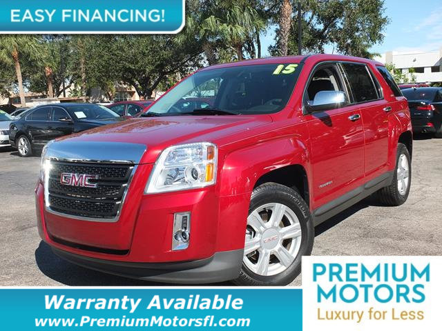 2015 GMC TERRAIN FWD 4DR SLE WSLE-1 LOADED CERTIFIED WE SAVE YOU THOUSANDS Dont Pay Retail