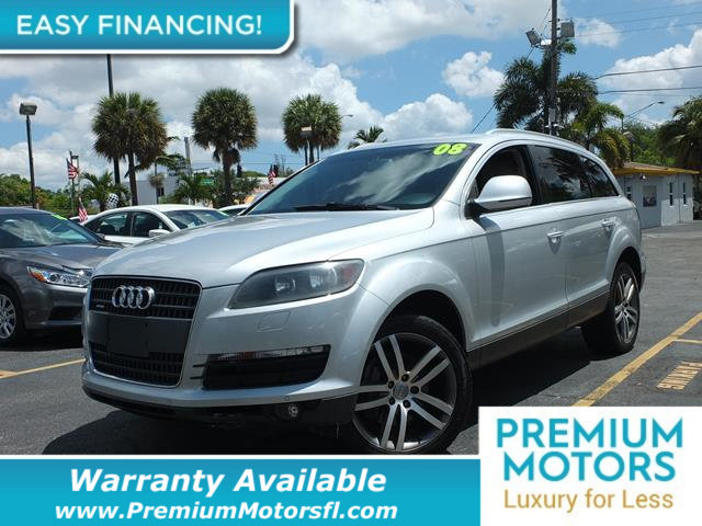 2008 AUDI Q7 QUATTRO 4DR 36L PREMIUM LOADED CERTIFIED WE SAVE YOU THOUSANDS Fully serviced ju