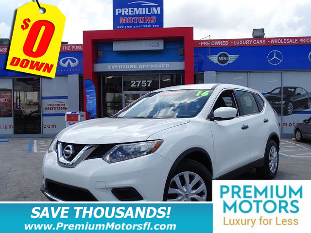 2016 NISSAN ROGUE FWD 4DR S NISSAN FOR LESS SAVE THOUSANDS At Premium Motors we have relat