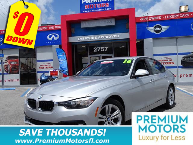 2016 BMW 3 SERIES 328I BMW FOR LESS SAVE THOUSANDS At Premium Motors we have relationships with