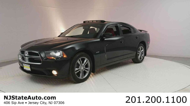 2014 DODGE CHARGER 4DR SEDAN RT AWD CARFAX One-Owner Pitch Black 2014 Dodge Charger RT AWD 5-Spe