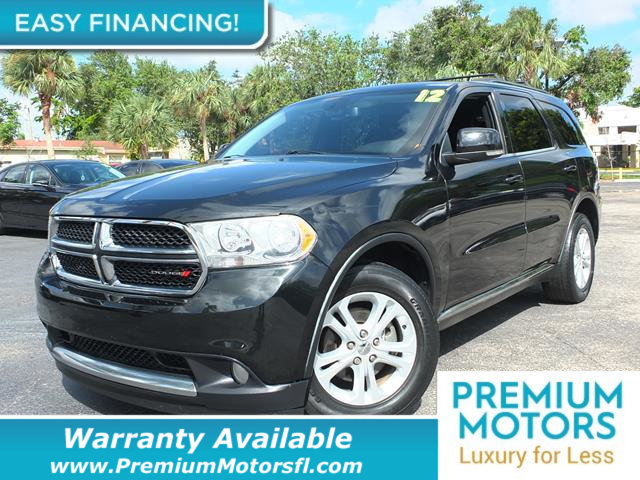 2012 DODGE DURANGO 2WD 4DR CREW LOADED CERTIFIED WARRANTY Dont Pay Retail Get low monthly pay