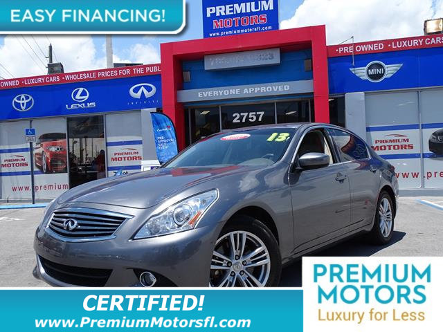 2013 INFINITI G37 SEDAN 4DR X AWD LOADED CERTIFIED WE SAVE YOU THOUSANDS Fully serviced j
