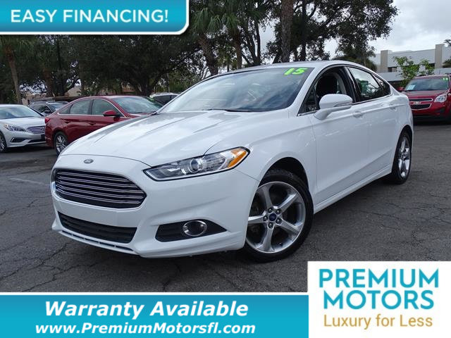 2015 FORD FUSION 4DR SEDAN SE FWD LOADED CERTIFIED WE SAVE YOU THOUSANDS Fully serviced just s