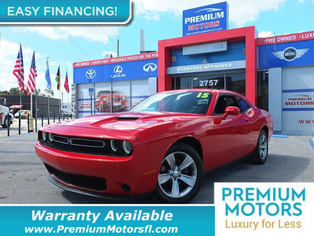 2015 DODGE CHALLENGER 2DR COUPE SXT LOADED CERTIFIED WE SAVE YOU THOUSANDS Dont Pay Retail G