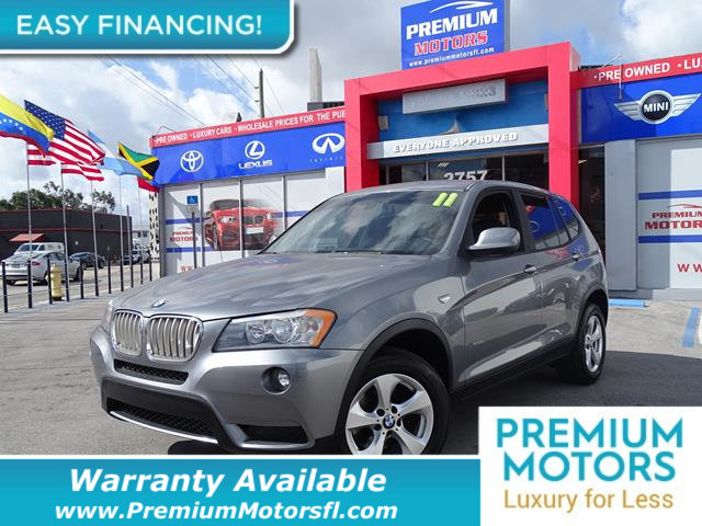 2011 BMW X3 28I LOADED CERTIFIED WE SAVE YOU THOUSANDS Fully serviced just sign and drive Don