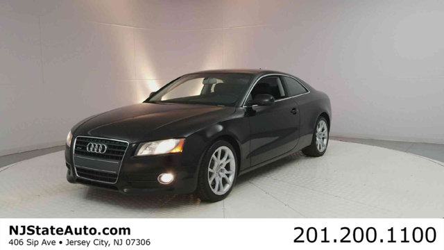 2012 AUDI A5 2DR COUPE MANUAL QUATTRO 20T PR Clean CARFAX Brilliant Black 2012 Audi A5 20T Prem
