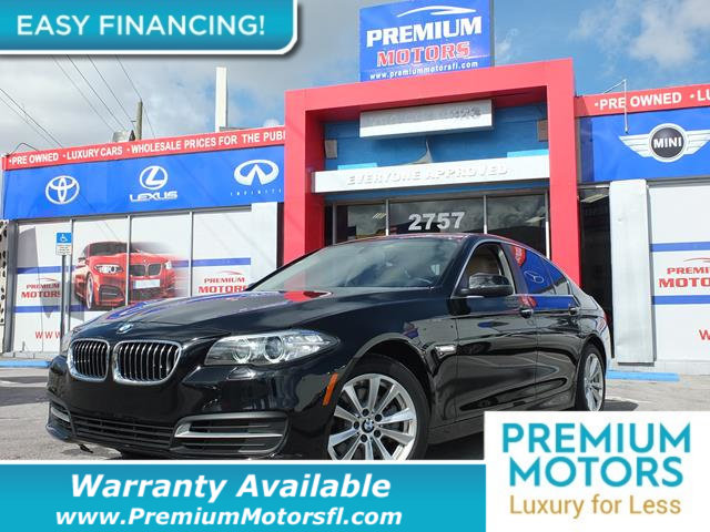 2014 BMW 5 SERIES 528I LOADED CERTIFIED WE SAVE YOU THOUSANDS Fully serviced just sign and dri