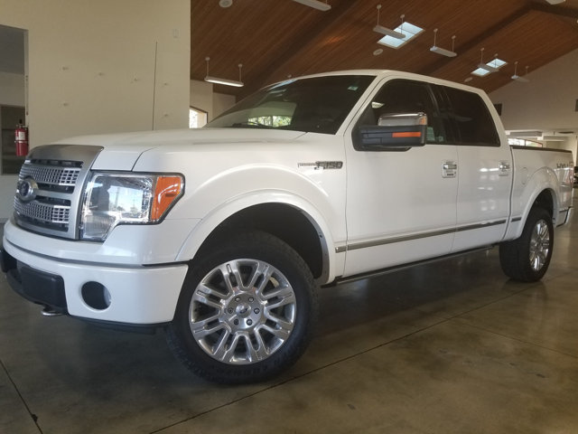 2010 FORD F-150 PLATINUM Clean CARFAX MICROSOFT SYNC SUNROOF  MOONROOF  PANORAMIC  ROOF 4X4