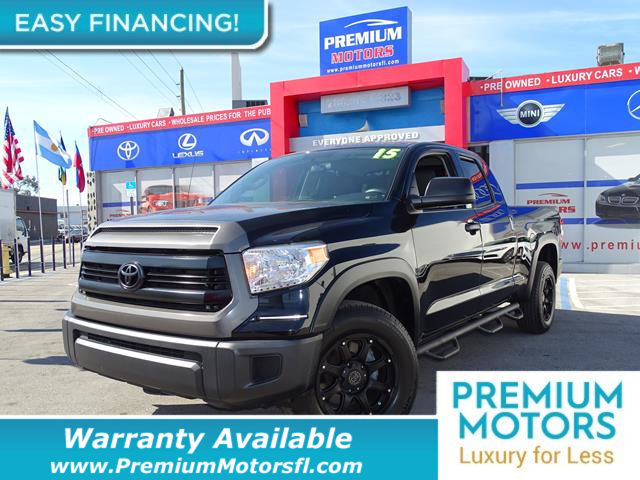 2015 TOYOTA TUNDRA TUNDRA DOUBLE CAB SRSRS LOADED CERTIFIED WE SAVE YOU THOUSANDS Dont Pay Re