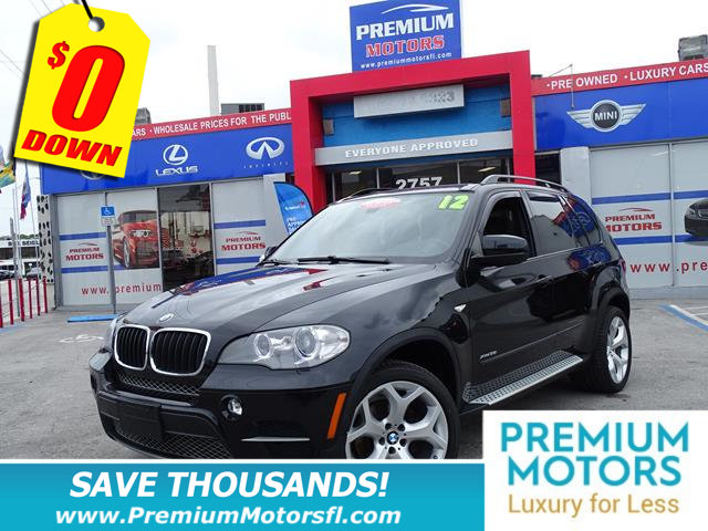 2012 BMW X5 35I LOADED CERTIFIED WE SAVE YOU THOUSANDS Fully serviced just sign and drive