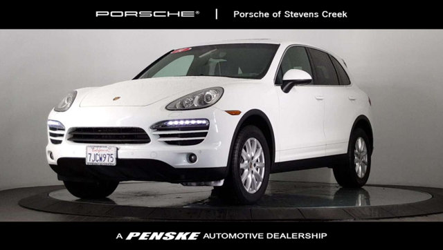 2014 PORSCHE CAYENNE AWD 4DR TIPTRONIC Porsche Certified Got stuff Seating welcomes you to stay