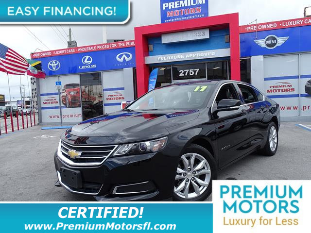 2017 CHEVROLET IMPALA 4DR SEDAN LT W1LT LOADED CERTIFIED MINT CONDITION and 1000s Below Retail