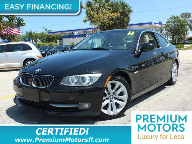 2011 BMW 3 SERIES 2DR CPE 328I RWD HUGE SALE SAVE THOUSANDS At Premium Motors we have relations