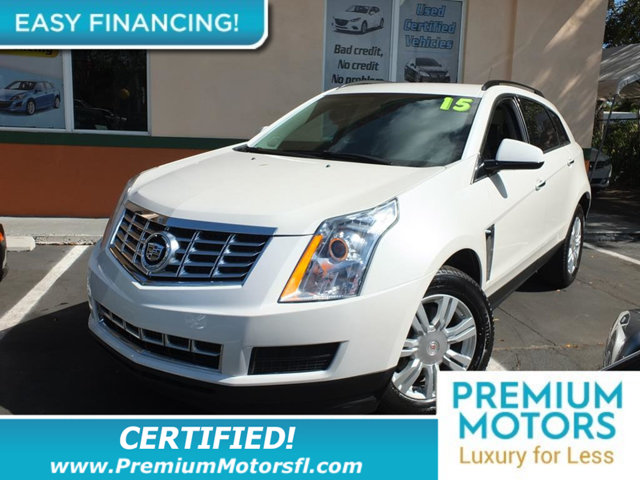 2015 CADILLAC SRX FWD 4DR WAGONSPORT UTILITY LUXURY FOR LESS FACTORY WARR