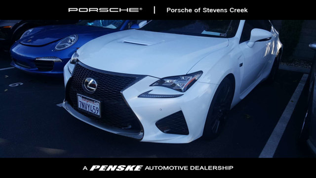 2015 LEXUS RC F 2DR COUPE Air Conditioning Climate Control Dual Zone Climate Control Cruise Con