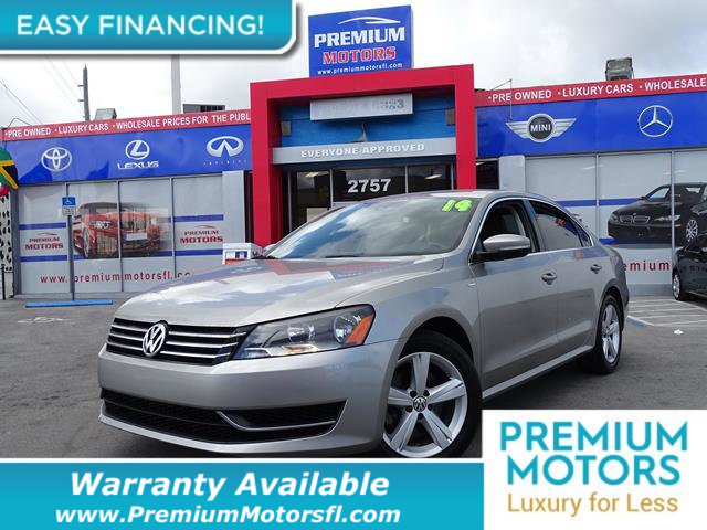 2014 VOLKSWAGEN PASSAT S EXTREMELY LOW MILES Get the best value from your vehicle purchase This