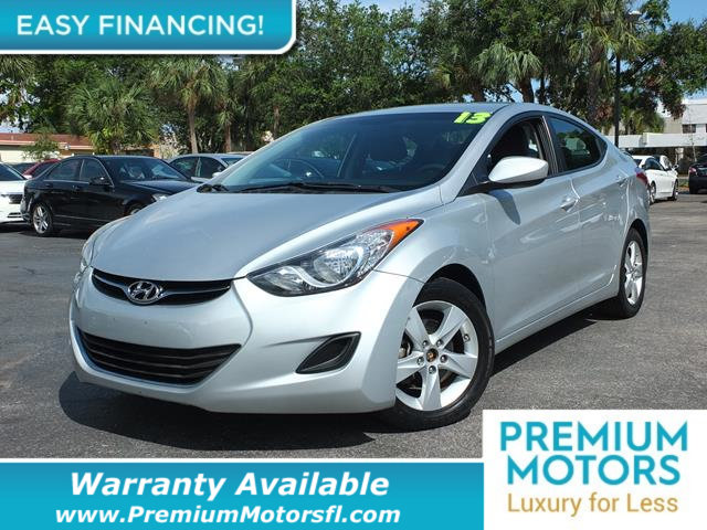 2013 HYUNDAI ELANTRA  LOADED CERTIFIED WARRANTY Dont Pay Retail Get low monthly payments on t