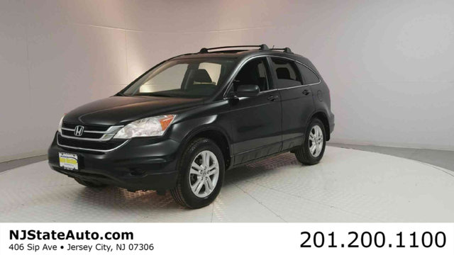 2011 HONDA CR-V 4WD 5DR EX Crystal Black Pearl 2011 Honda CR-V EX AWD 5-Speed Automatic 24L I4 DO