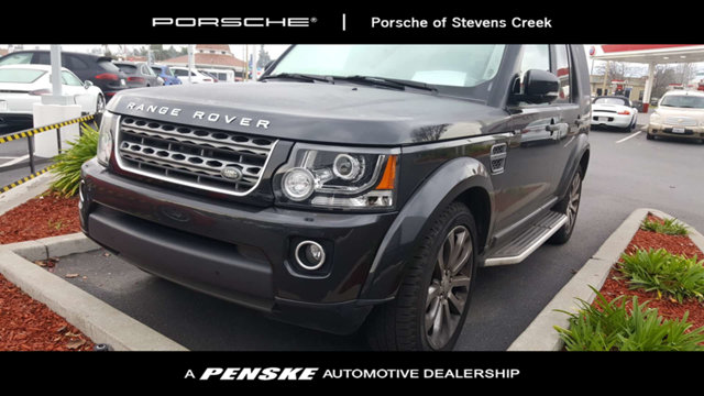2015 LAND ROVER LR4 4WD 4DR HSE CARFAX One-Owner Black 2015 Land Rover LR4 4WD 8-Speed Automatic