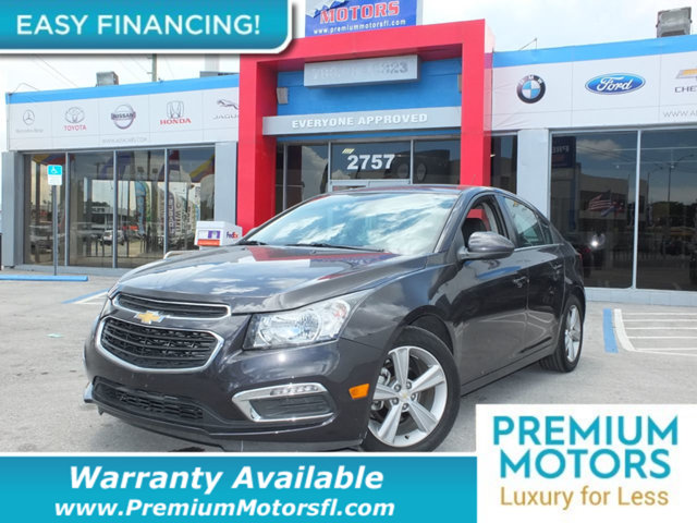 2015 CHEVROLET CRUZE 4DR SEDAN AUTOMATIC 2LT LOADED CERTIFIED WARRANTY Dont Pay Retail Get lo