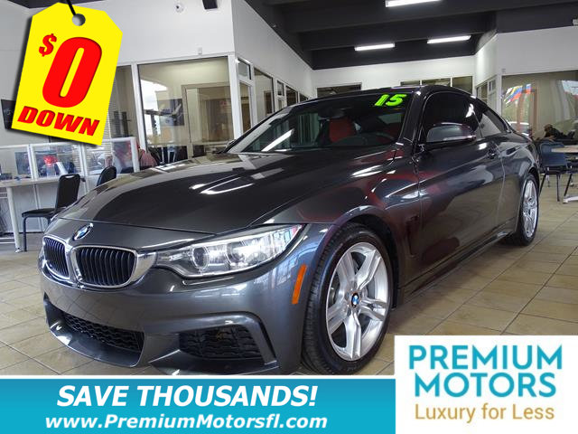 2015 BMW 4 SERIES 435I BMW FOR LESS LOADED At Premium Motors we have relationships with banks l