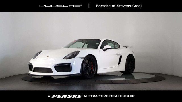 2016 PORSCHE CAYMAN 2DR GT4 So few miles means its like new Gently used Want to save some money