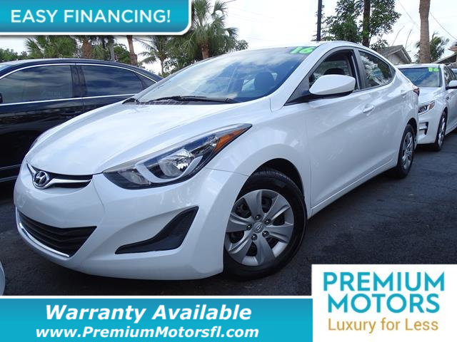 2016 HYUNDAI ELANTRA  LOADED CERTIFIED WE SAVE YOU THOUSANDS Fully serviced just sign and driv