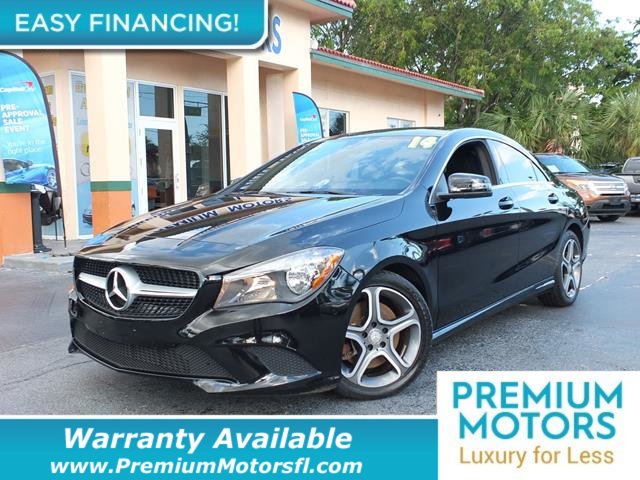 2014 MERCEDES CLA 4DR SEDAN CLA 250 FWD MERCEDES FOR LESS LOADED At Premium Motors we have rela