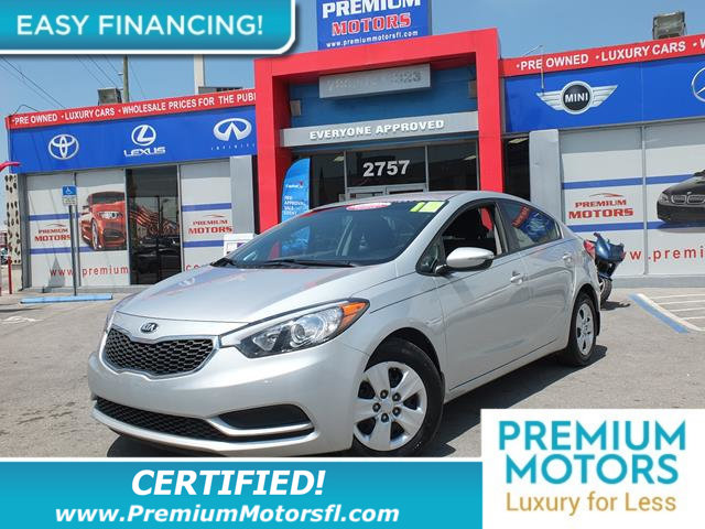 2015 KIA FORTE LX LOADED CERTIFIED WE SAVE YOU THOUSANDS Fully serviced just sign and drive D