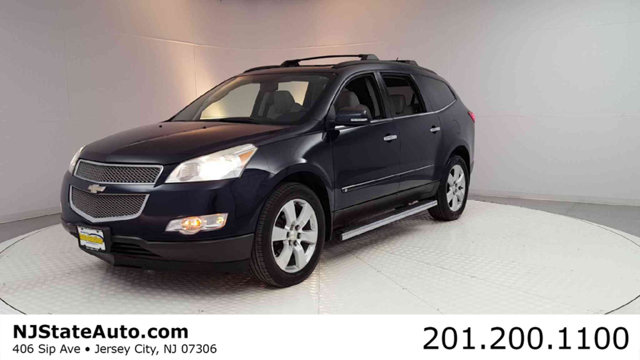 2010 CHEVROLET TRAVERSE LTZ CARFAX One-Owner Clean CARFAX Dark Blue Metallic 2010 Chevrolet Trav