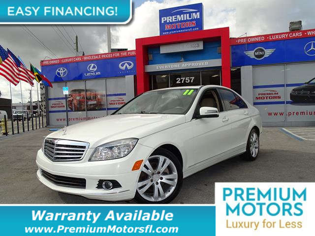 2011 MERCEDES C-CLASS C300 LOADED CERTIFIED WE SAVE YOU THOUSANDS Fully serviced just sign and