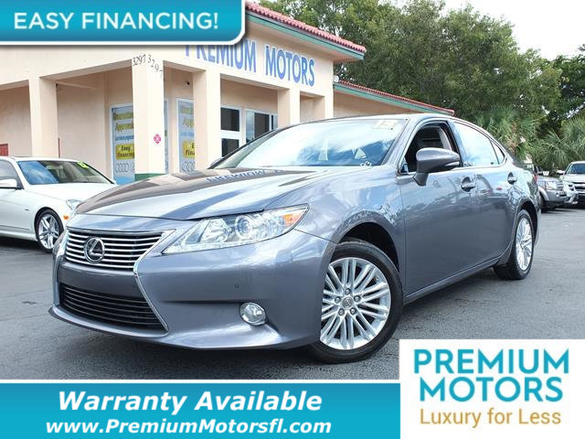 2013 LEXUS ES 350 4DR SEDAN LOADED CERTIFIED WARRANTY Dont Pay Retail Get low monthly payment