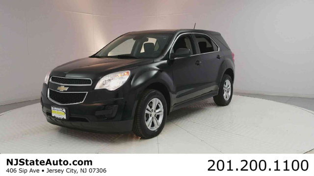 2015 CHEVROLET EQUINOX FWD 4DR LS CARFAX One-Owner Clean CARFAX Black 2015 Chevrolet Equinox LS