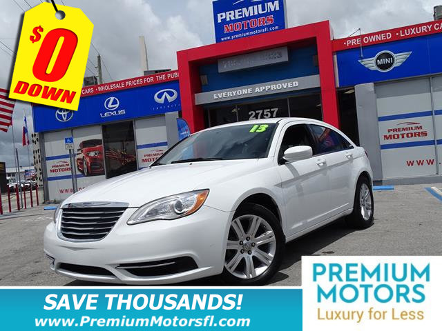2013 CHRYSLER 200 4DR SEDAN LX LOADED SAVE THOUSANDS At Premium Motors we have relationshi