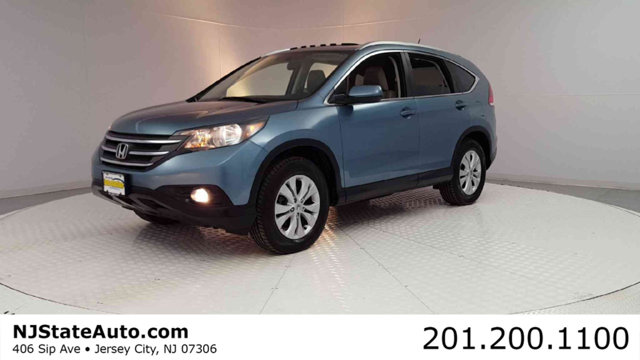 2014 HONDA CR-V AWD 5DR EX-L CARFAX One-Owner Clean CARFAX Mountain Air Metallic 2014 Honda CR-V