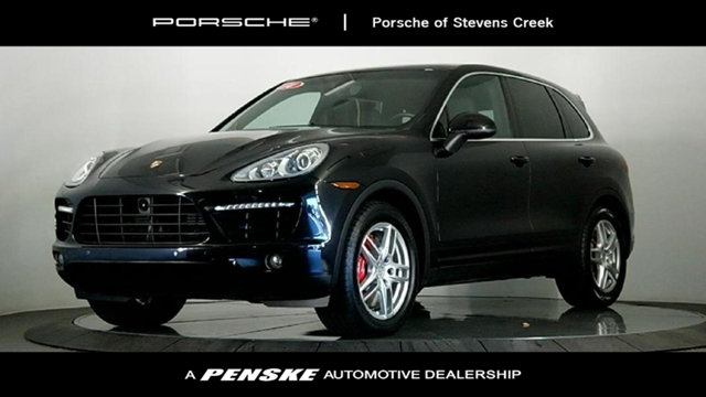 2014 PORSCHE CAYENNE AWD 4DR TURBO Cream of the crop one owner vehicle A heavy hauler Your quest
