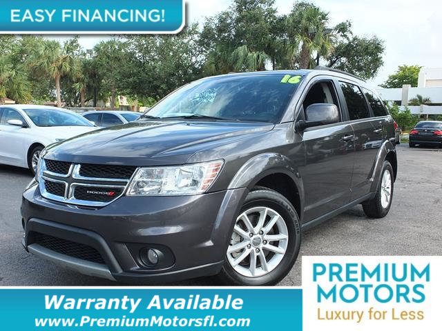 2016 DODGE JOURNEY FWD 4DR SXT LOADED CERTIFIED WARRANTY Dont Pay Retail Get low monthly paym