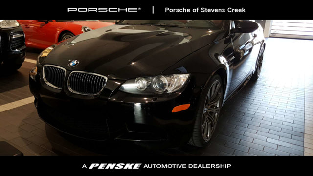 2008 BMW M3 3-SERIES 2DR CONV Jet Black Has a long life ahead Be the talk of the town when you r
